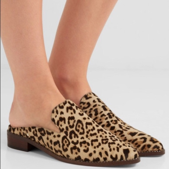 16992b8e582 NWOB Sam Edelman Leopard Print Lewellyn Mule
